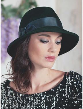Гарний капелюх федора 334-1