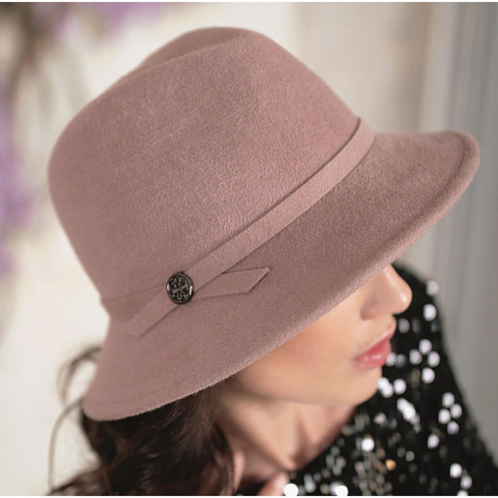 Красивая шляпа федора 334-1 фото 2