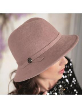 Жіночий капелюх федора 334-2