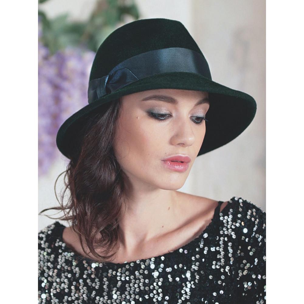 Женская шляпа федора 334-2 фото 2