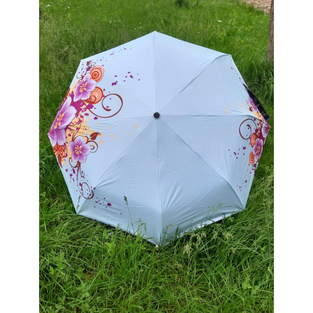 Изумительный зонт с цветами фото 1