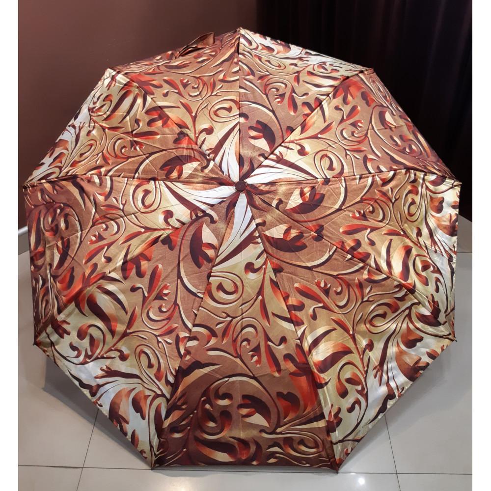 Женский зонт-автомат из сатина фото 1