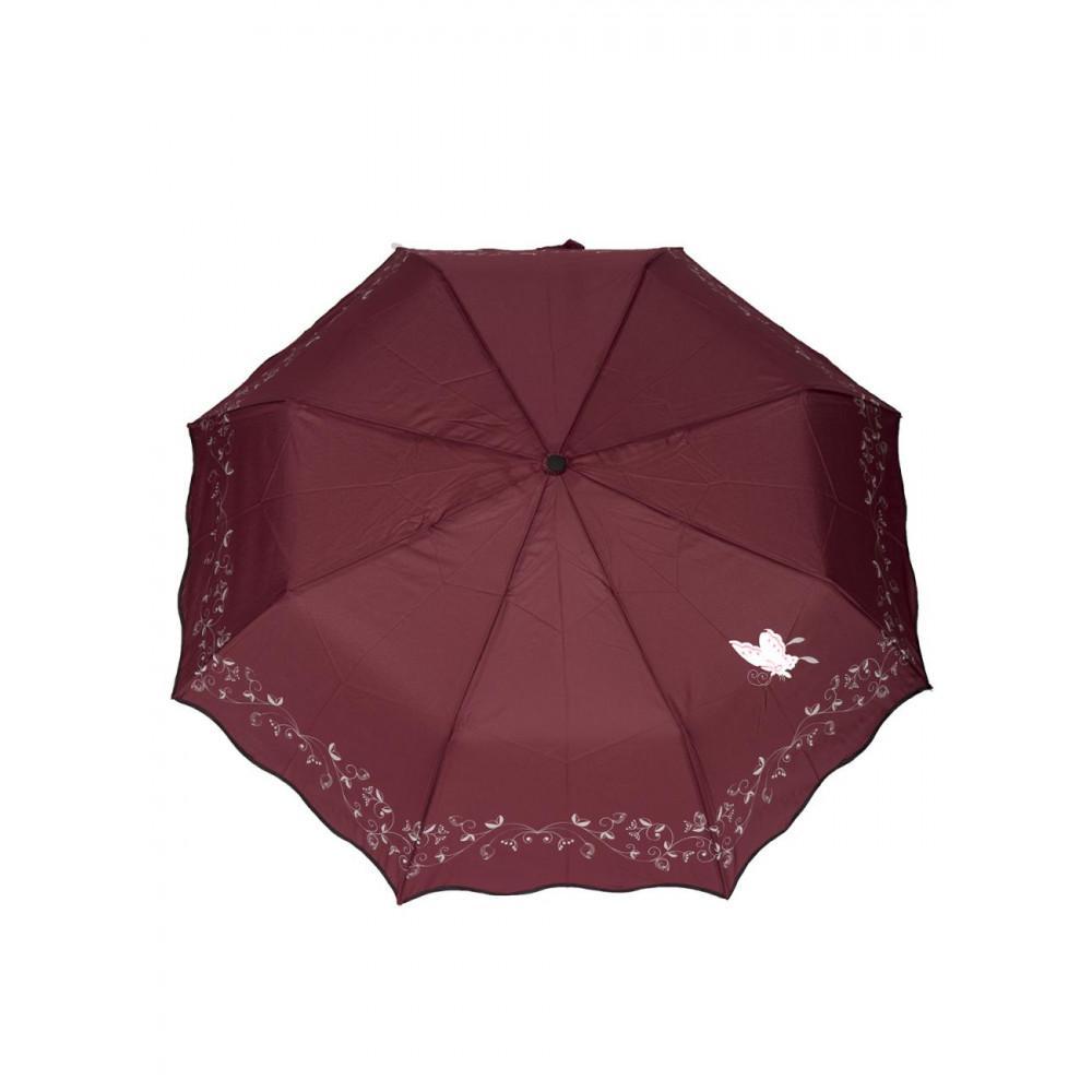 Женский красивый зонт Бабочка фото 1