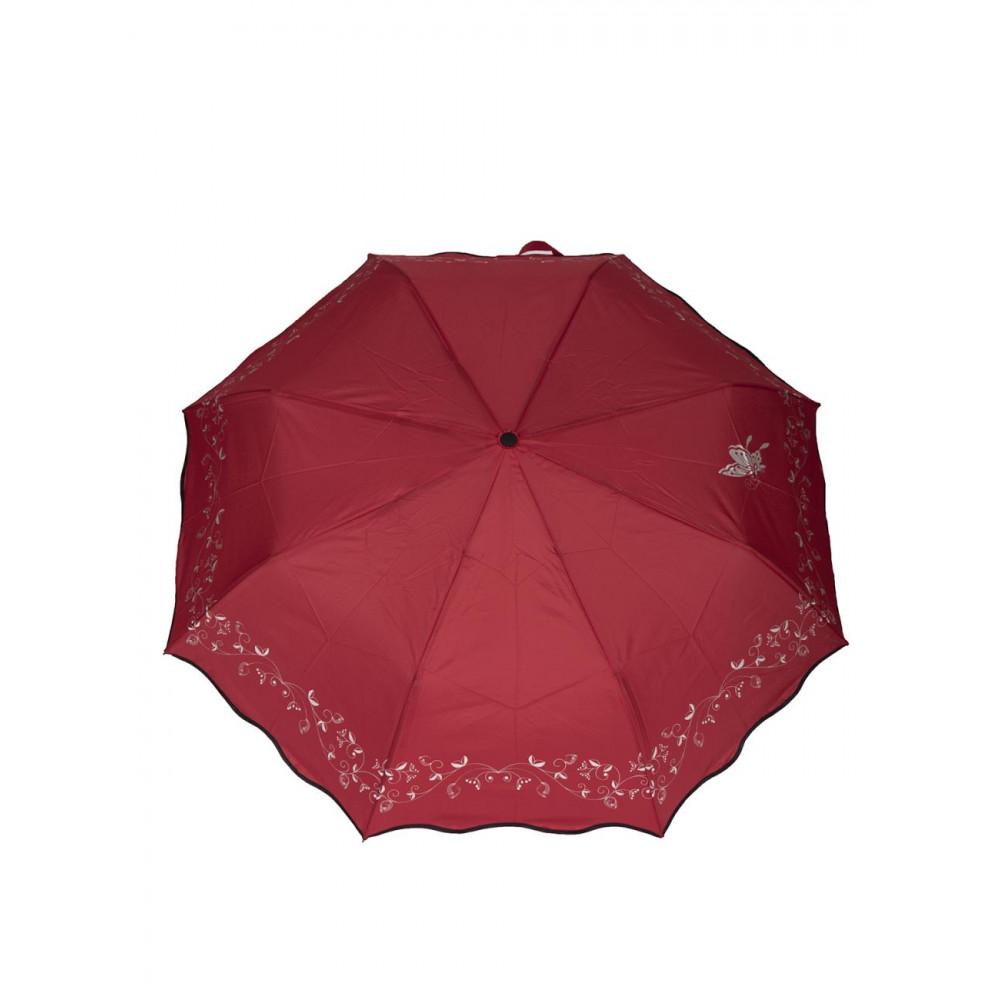 Красный зонт Бабочка фото 1