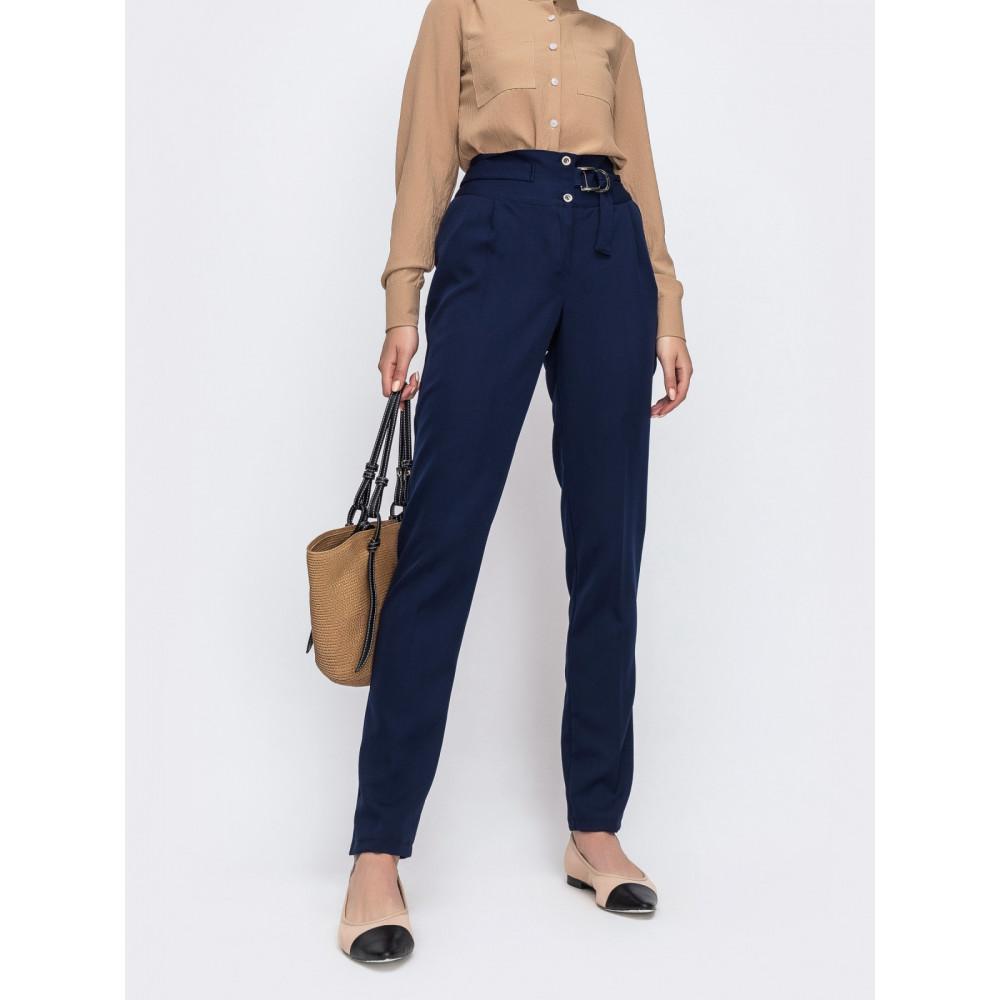 Классические брюки из костюмной ткани фото 1