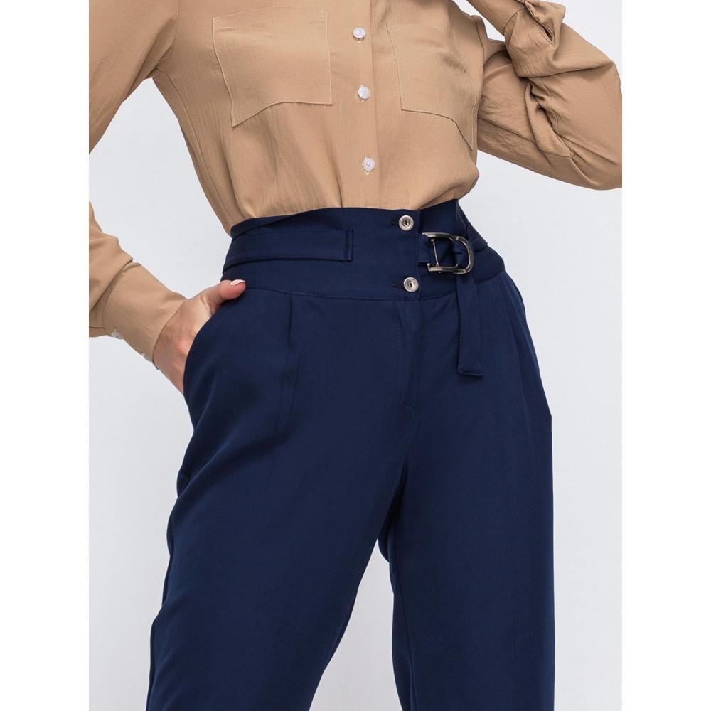 Классические брюки из костюмной ткани фото 2