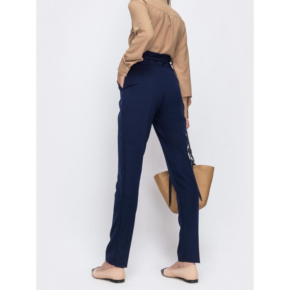 Классические брюки из костюмной ткани фото 3