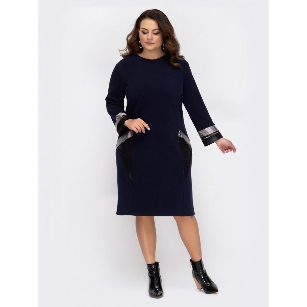 Красивое черное платье на молнии фото 1