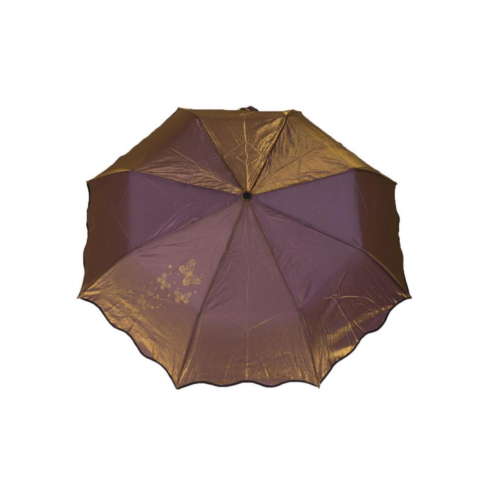 Интересный зонт-хамелеон с узором фото 1