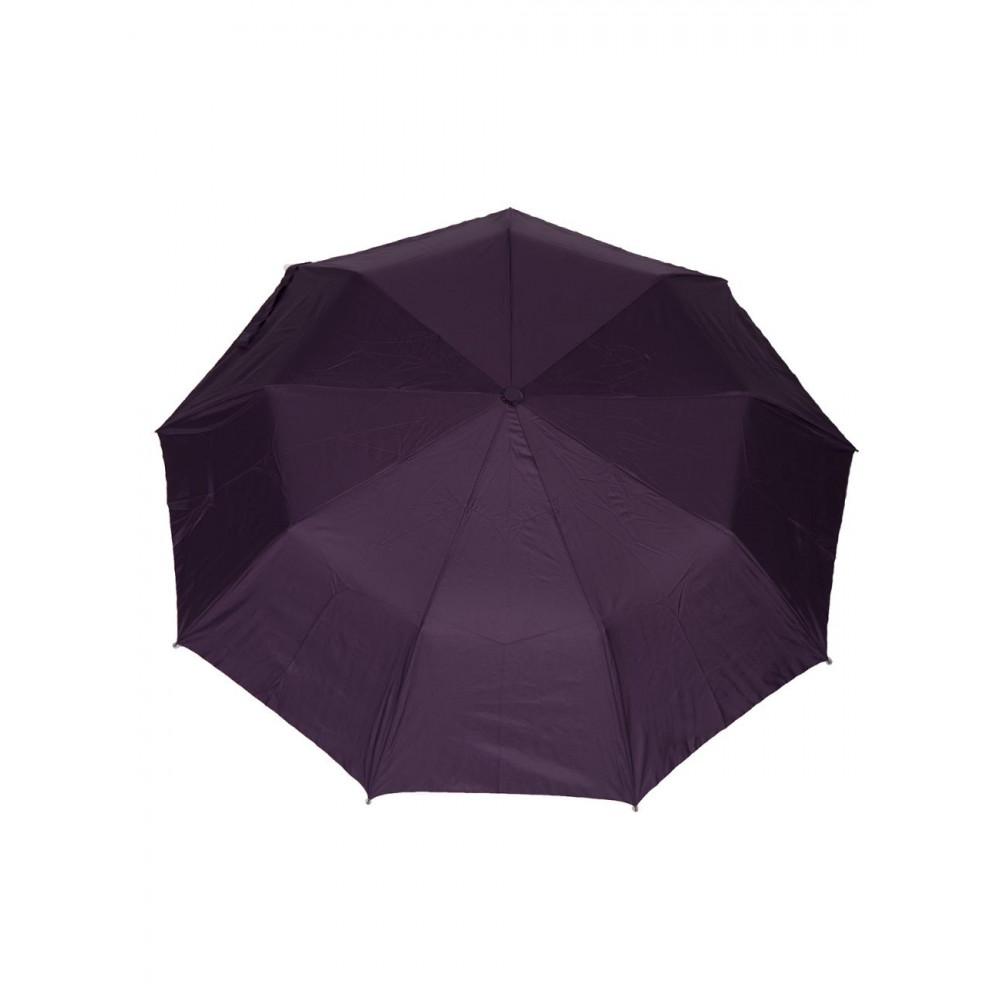 Милый фиолетовый зонт с узором фото 1