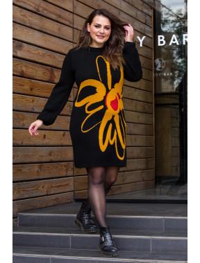 Уютное теплое платье Земфира