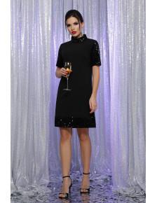 Актуальное платье с пайетками Бетти