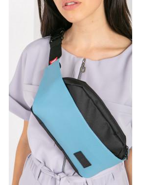 Блакитна овальна сумка Ben