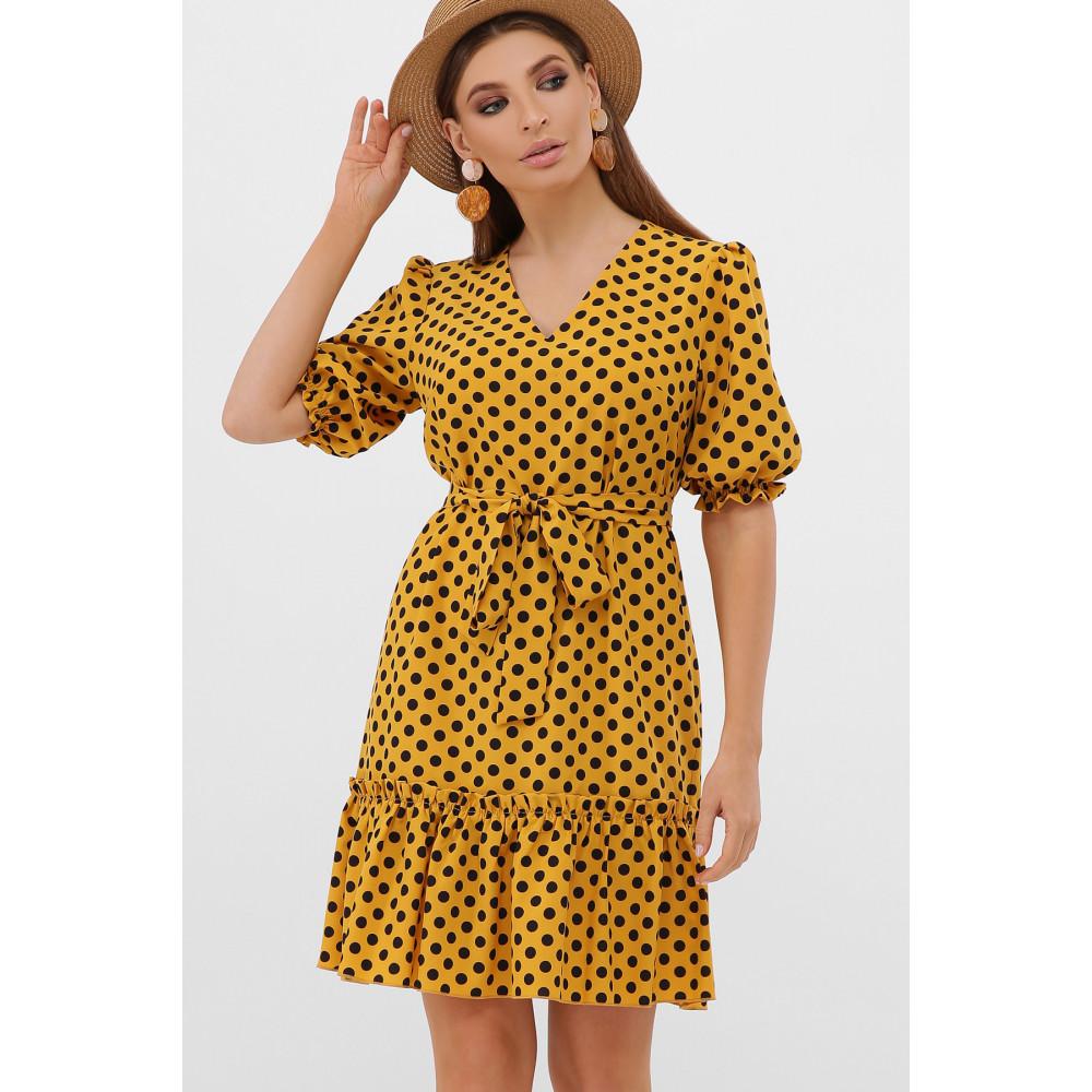 Горчичное платье Мальвина фото 3