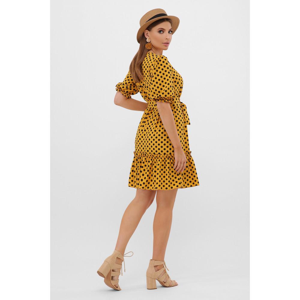 Горчичное платье Мальвина фото 4