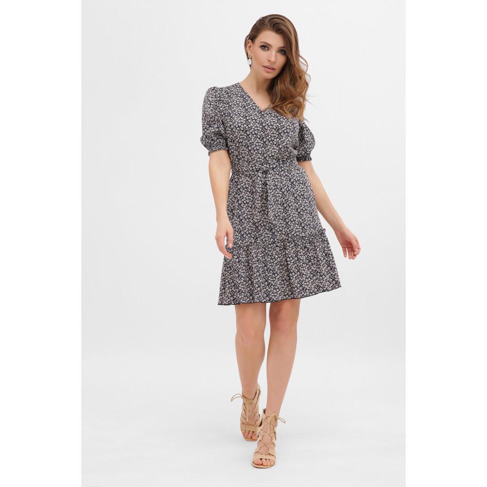 Платье с цветочным рисунком Мальвина фото 1