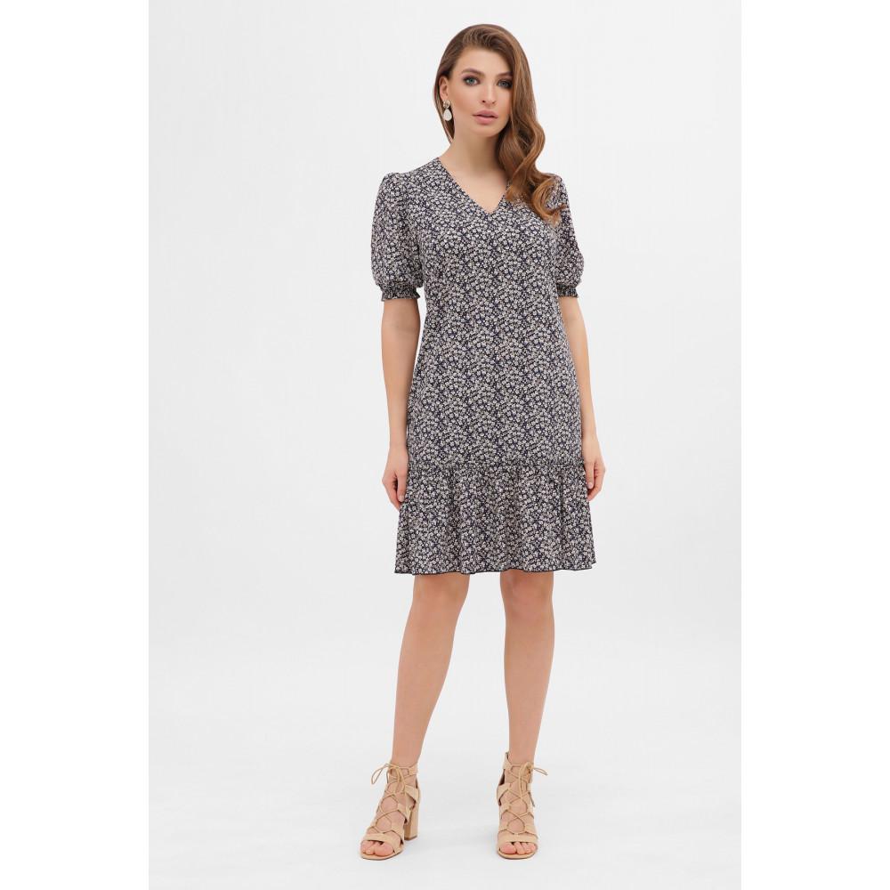 Платье с цветочным рисунком Мальвина фото 2