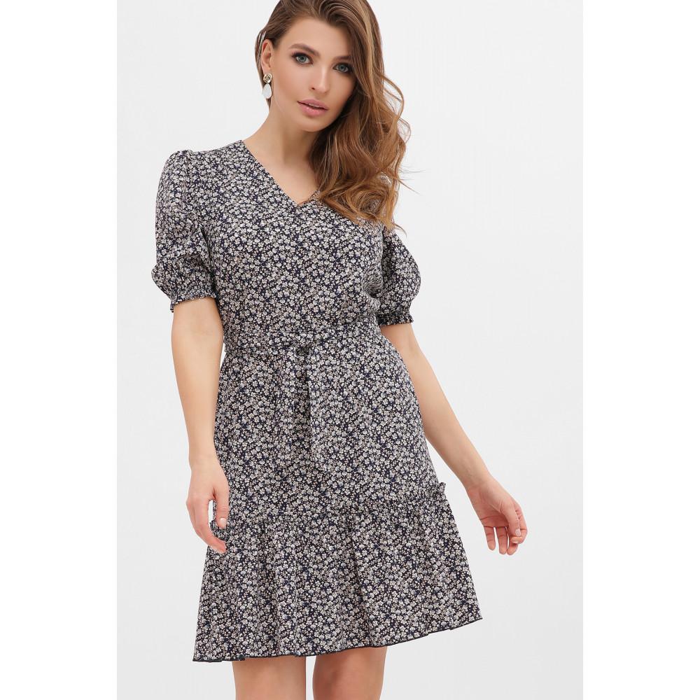 Платье с цветочным рисунком Мальвина фото 3