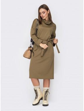 Зручна сукня з трикотажу Альма