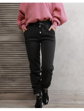 Сірі жіночі штани на зиму