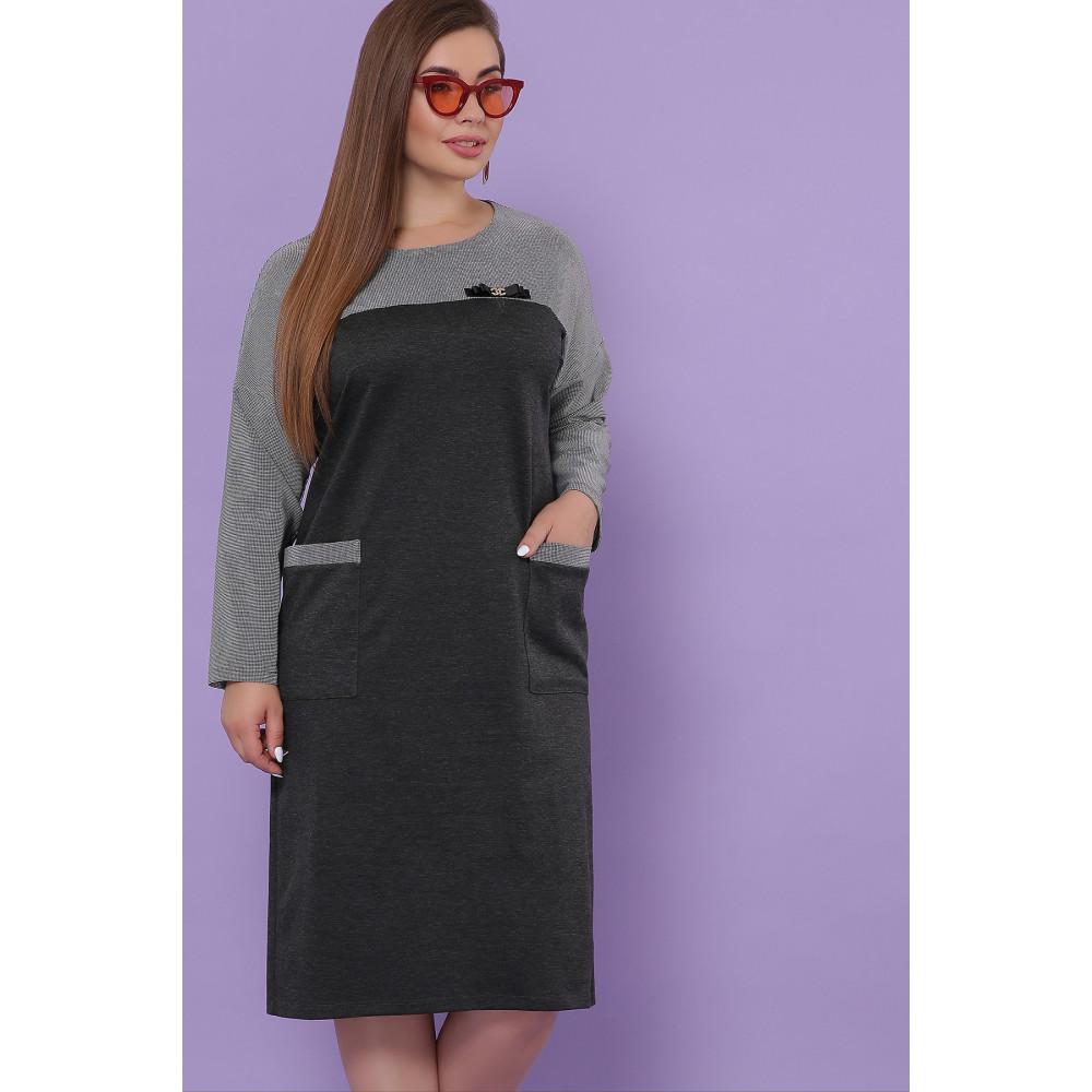 Замечательно комбинированное платье Джоси фото 1