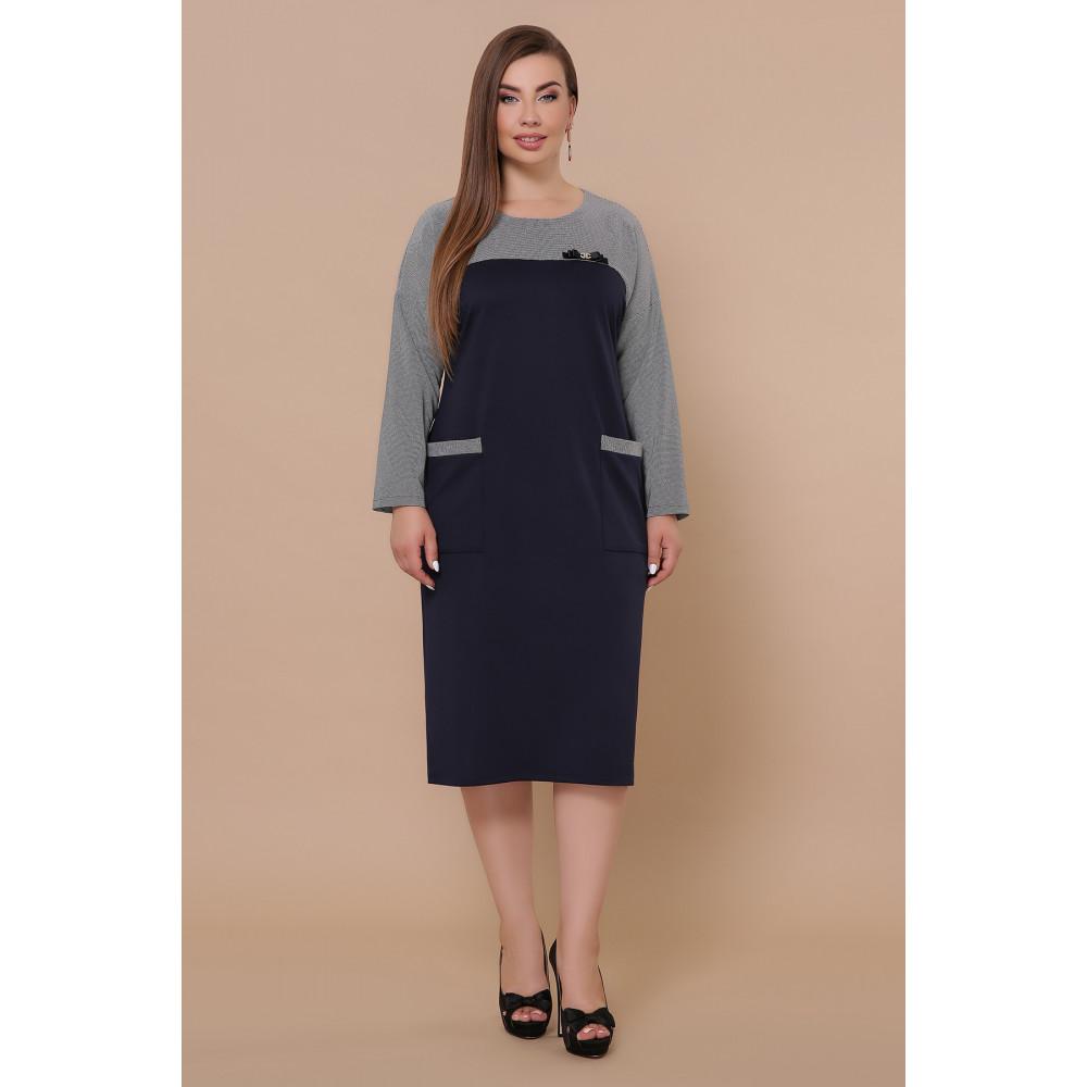 Красивое комбинированное платье Джоси фото 1
