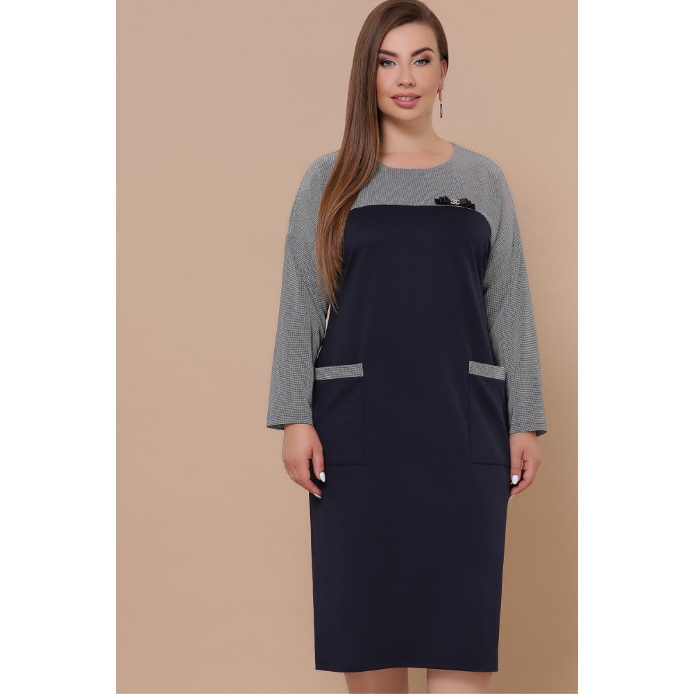 Красивое комбинированное платье Джоси фото 2