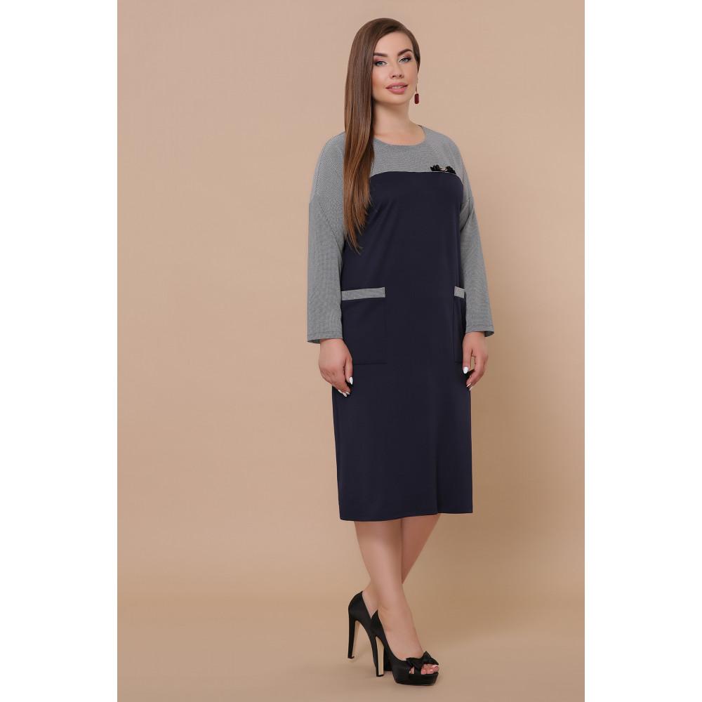 Красивое комбинированное платье Джоси фото 3