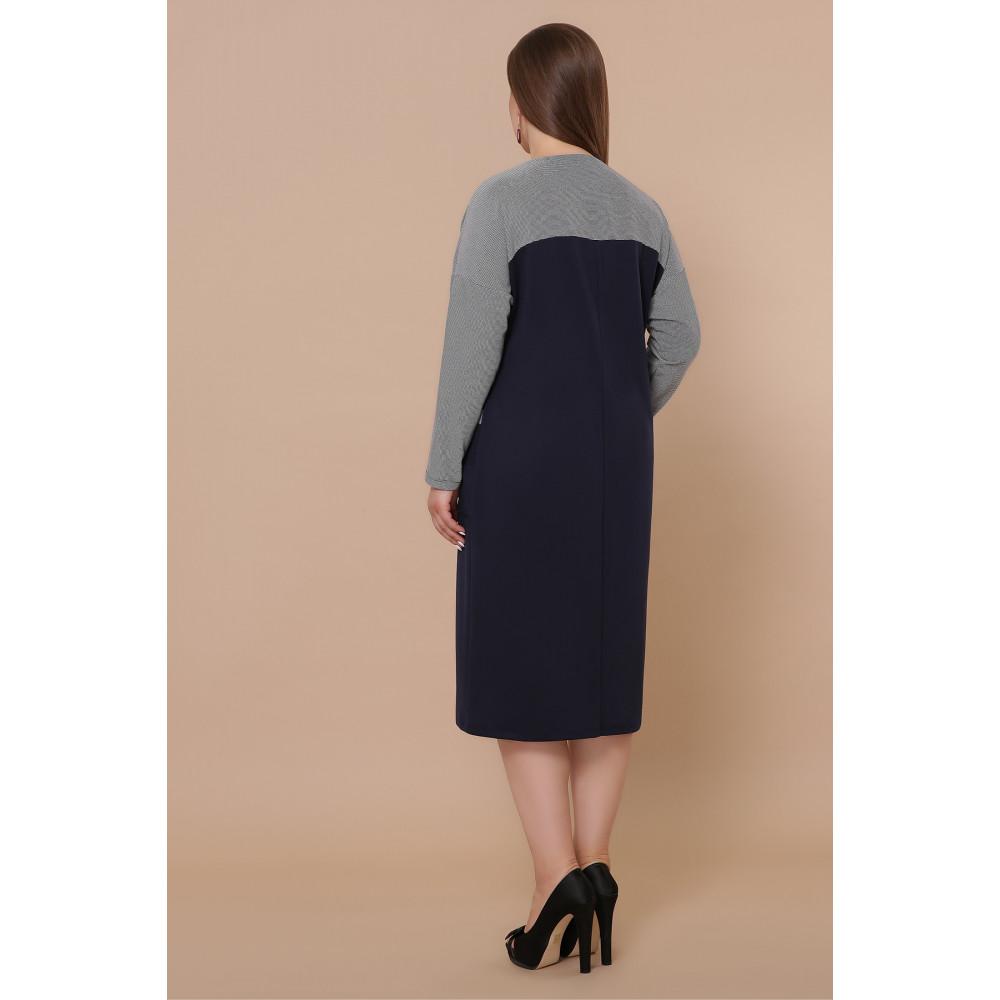Красивое комбинированное платье Джоси фото 4