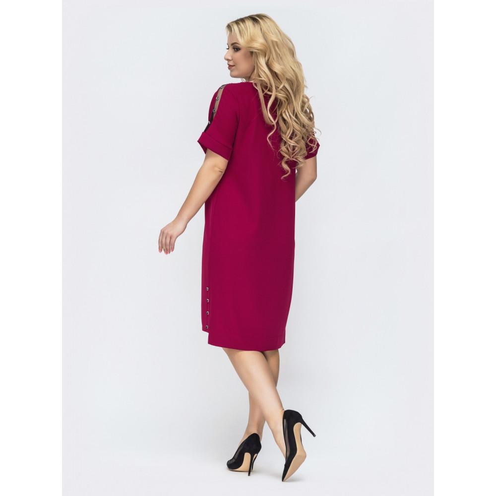 Интересное платье с удлиненной спинкой Картье фото 2