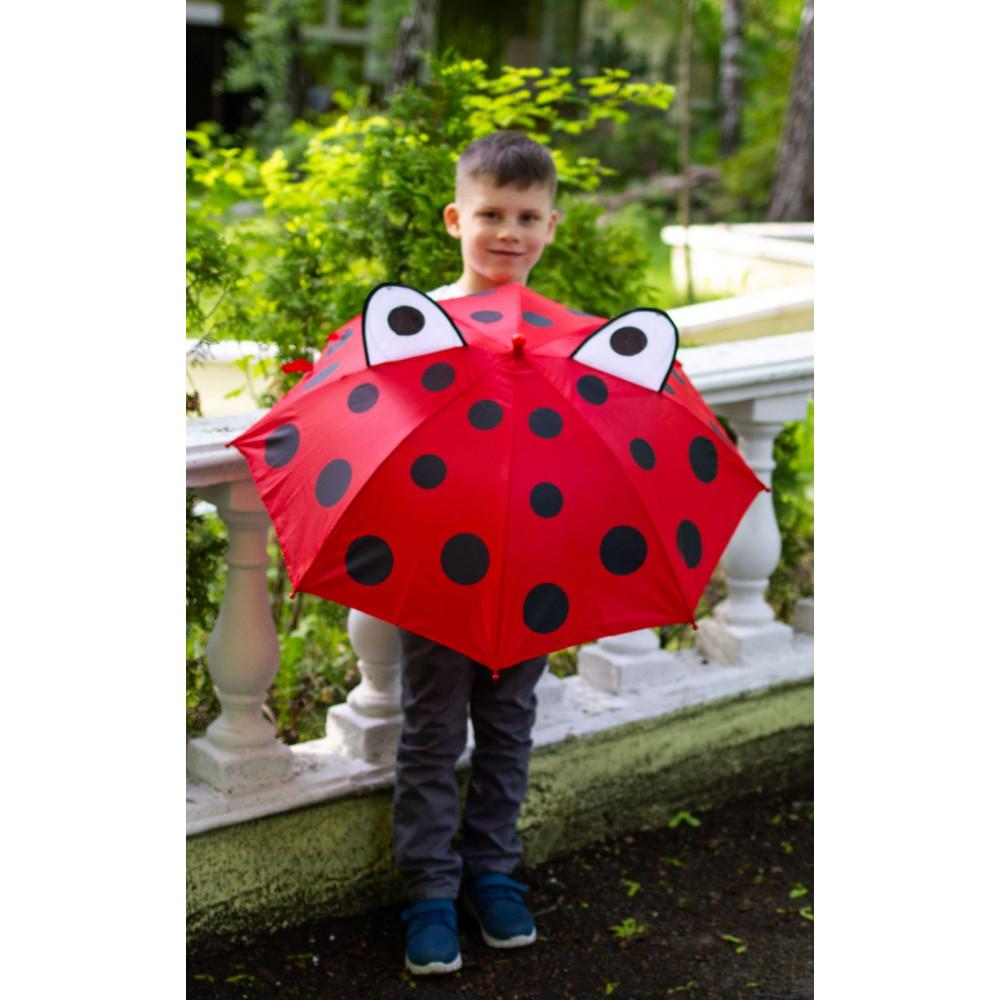 Зонт-трость с ушками для деток фото 1