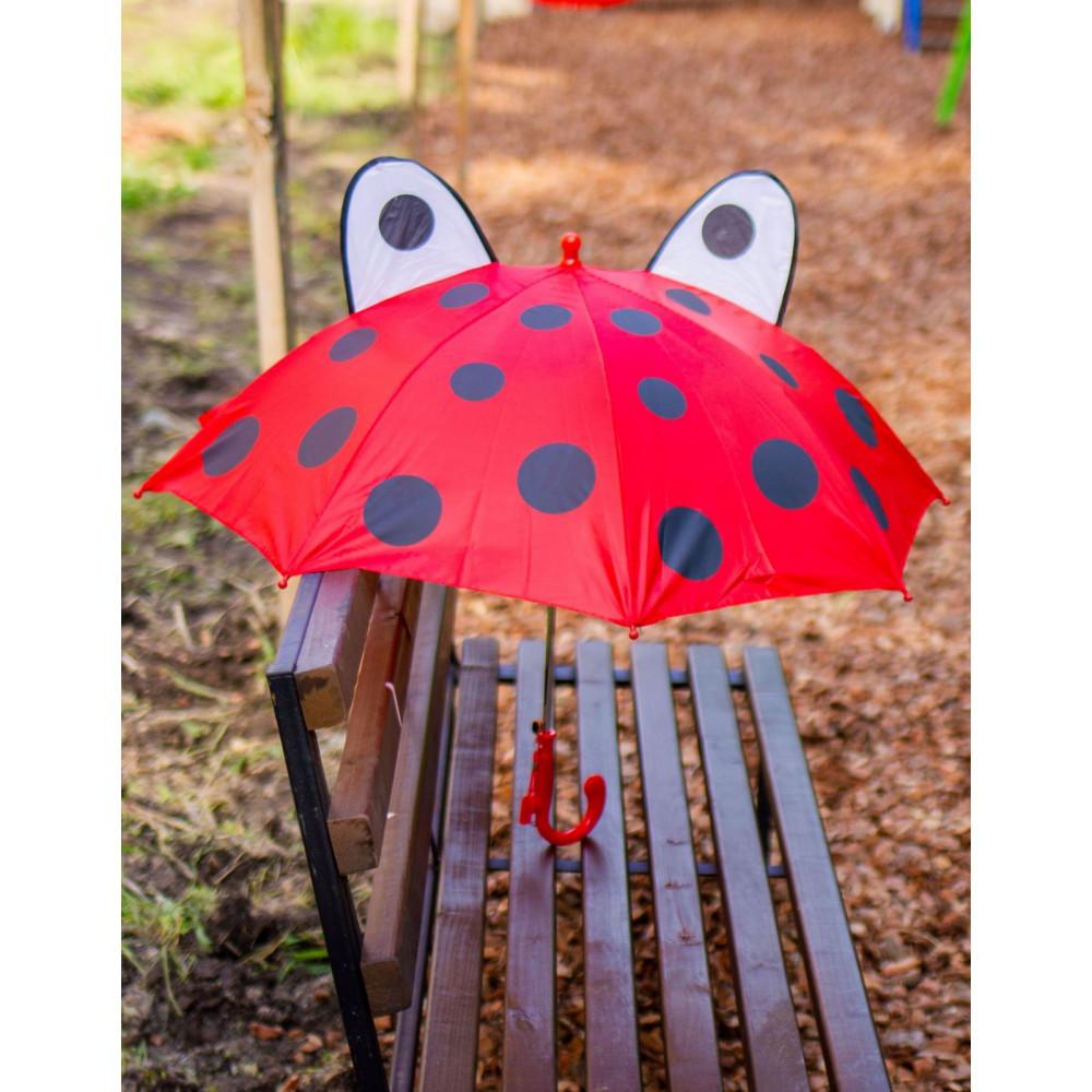 Зонт-трость с ушками для деток фото 2