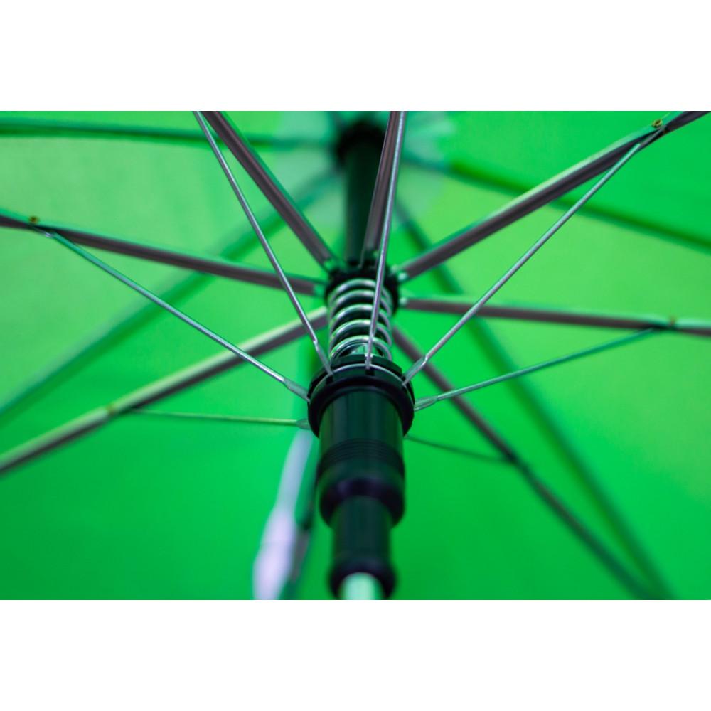 Зеленый зонт-трость с ушками для деток  фото 3
