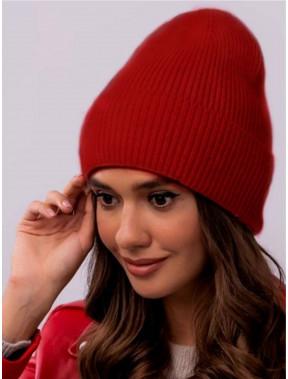 Кашемировая красная шапка Лондон