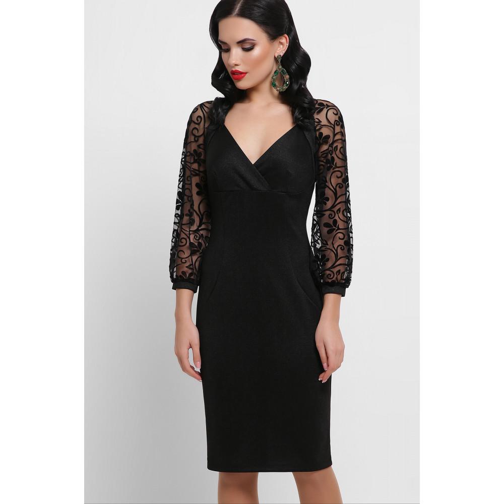 Нарядное платье с ажурными рукавами Флоренция фото 5