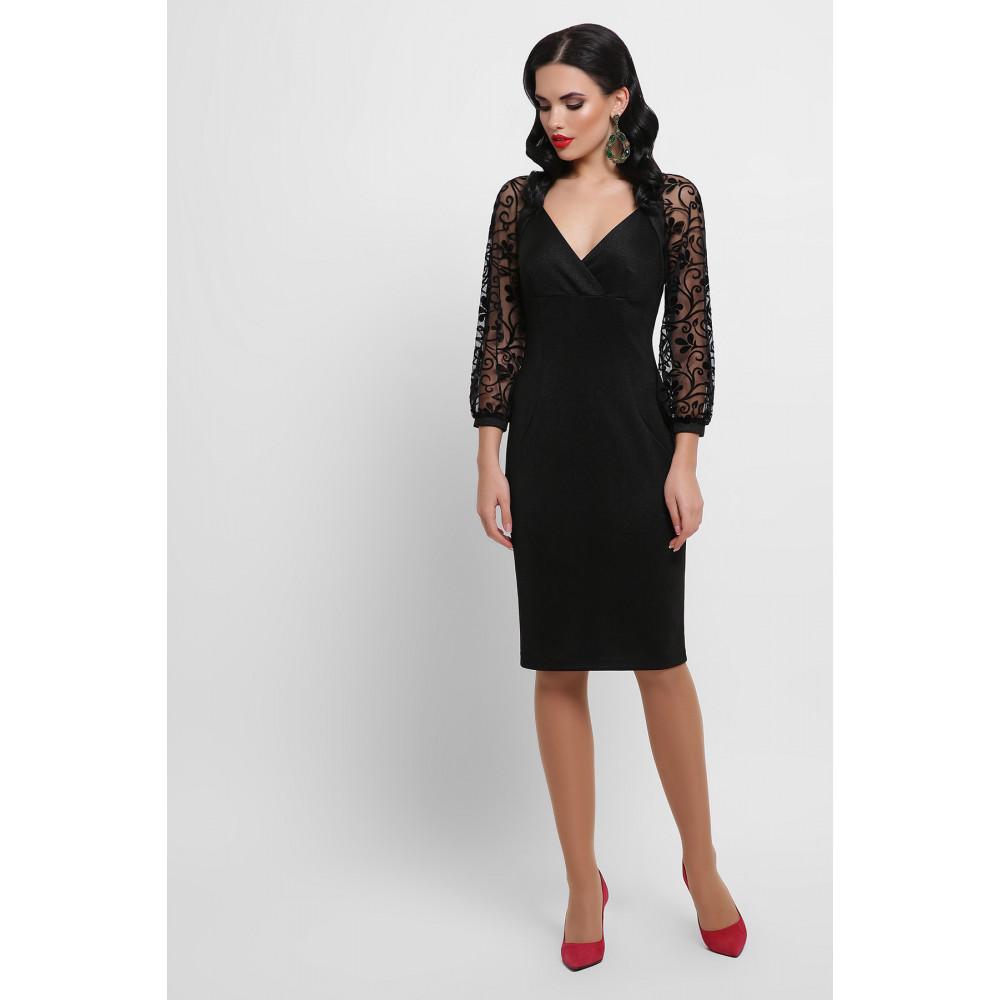 Нарядное платье с ажурными рукавами Флоренция фото 6