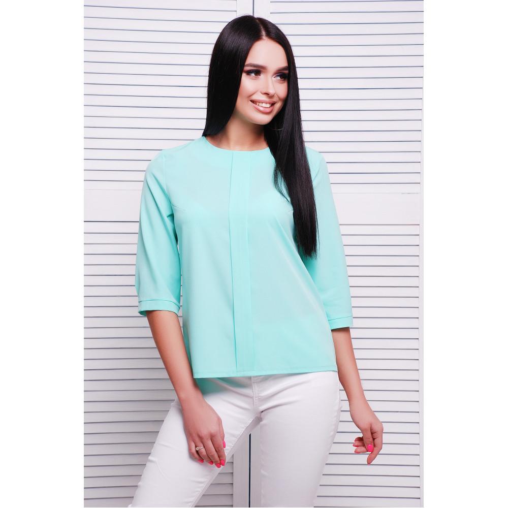 Мятная блуза Аманда фото 1