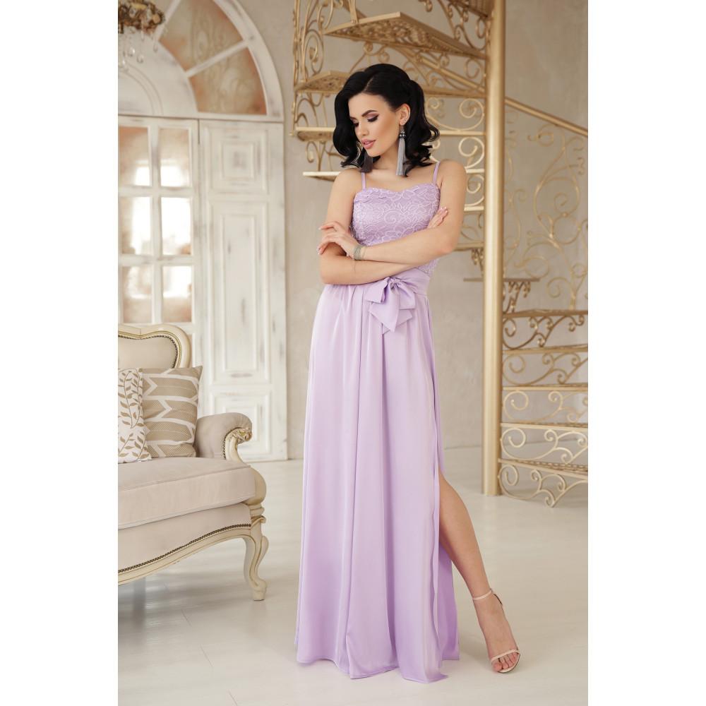 Нежное лавандовое платье Эшли фото 1