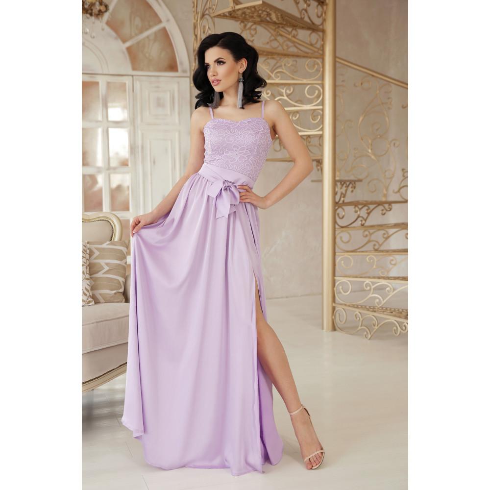 Нежное лавандовое платье Эшли фото 2