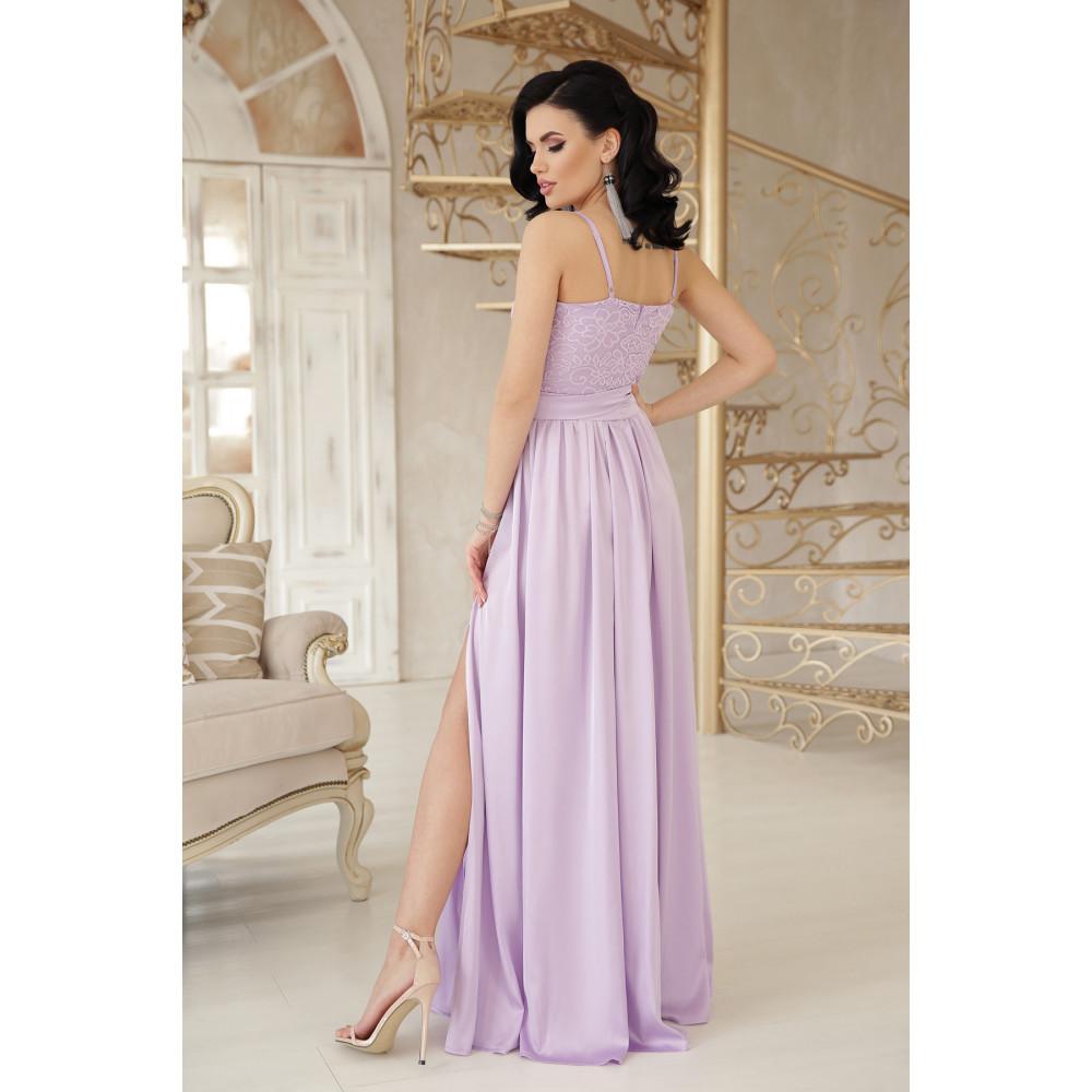 Нежное лавандовое платье Эшли фото 3