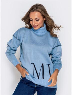 Теплий подовжений светр Muah