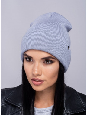 Серо-голубая шапка Наоми