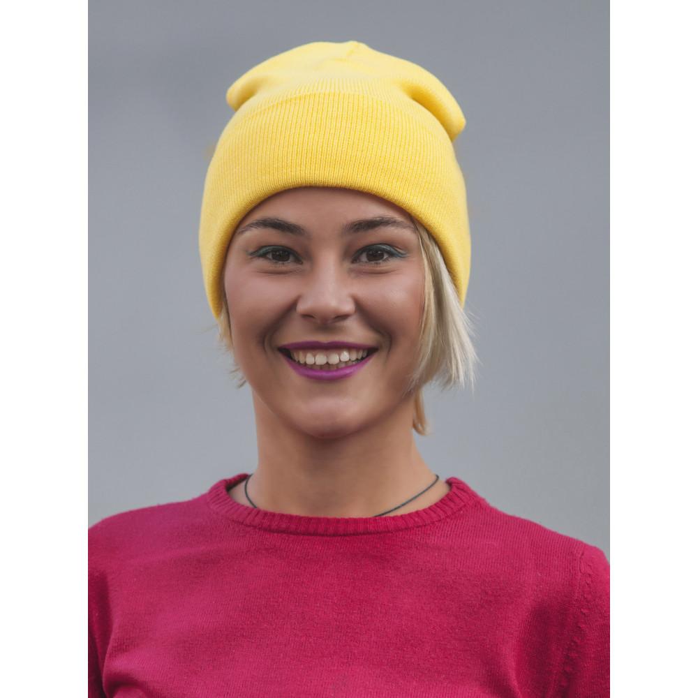 Желтая шапка Спринт  фото 1