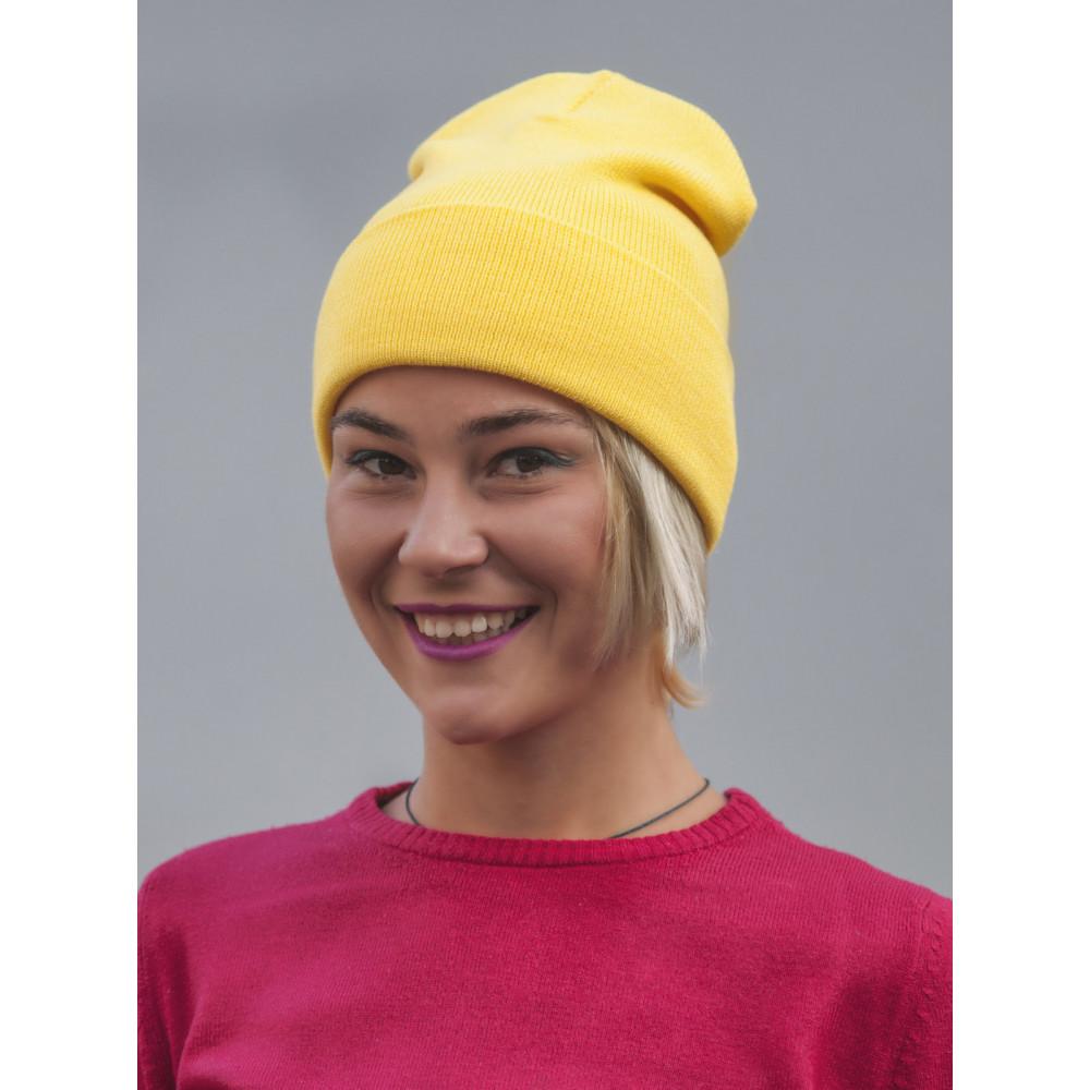 Желтая шапка Спринт  фото 2