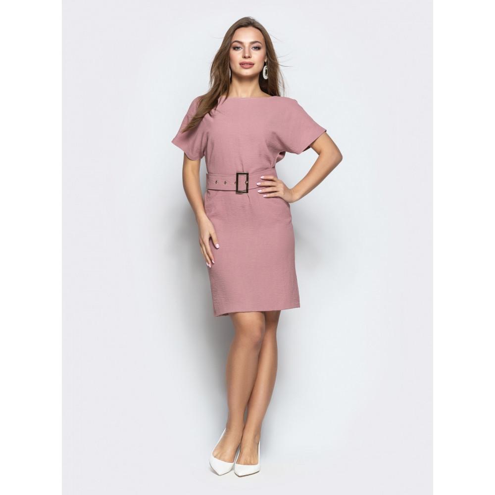 Женственное платье с вырезом по спинке фото 1