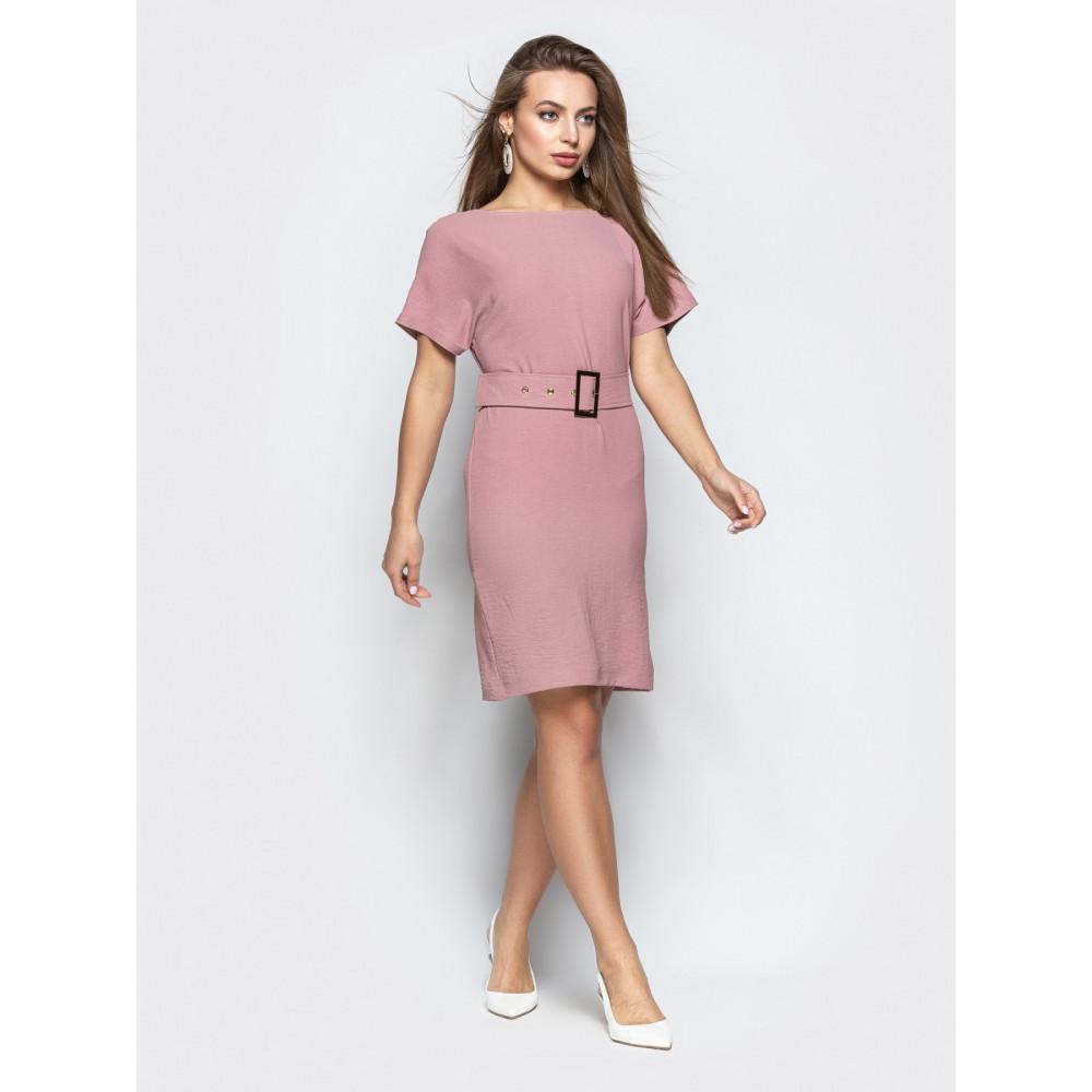Женственное платье с вырезом по спинке фото 2
