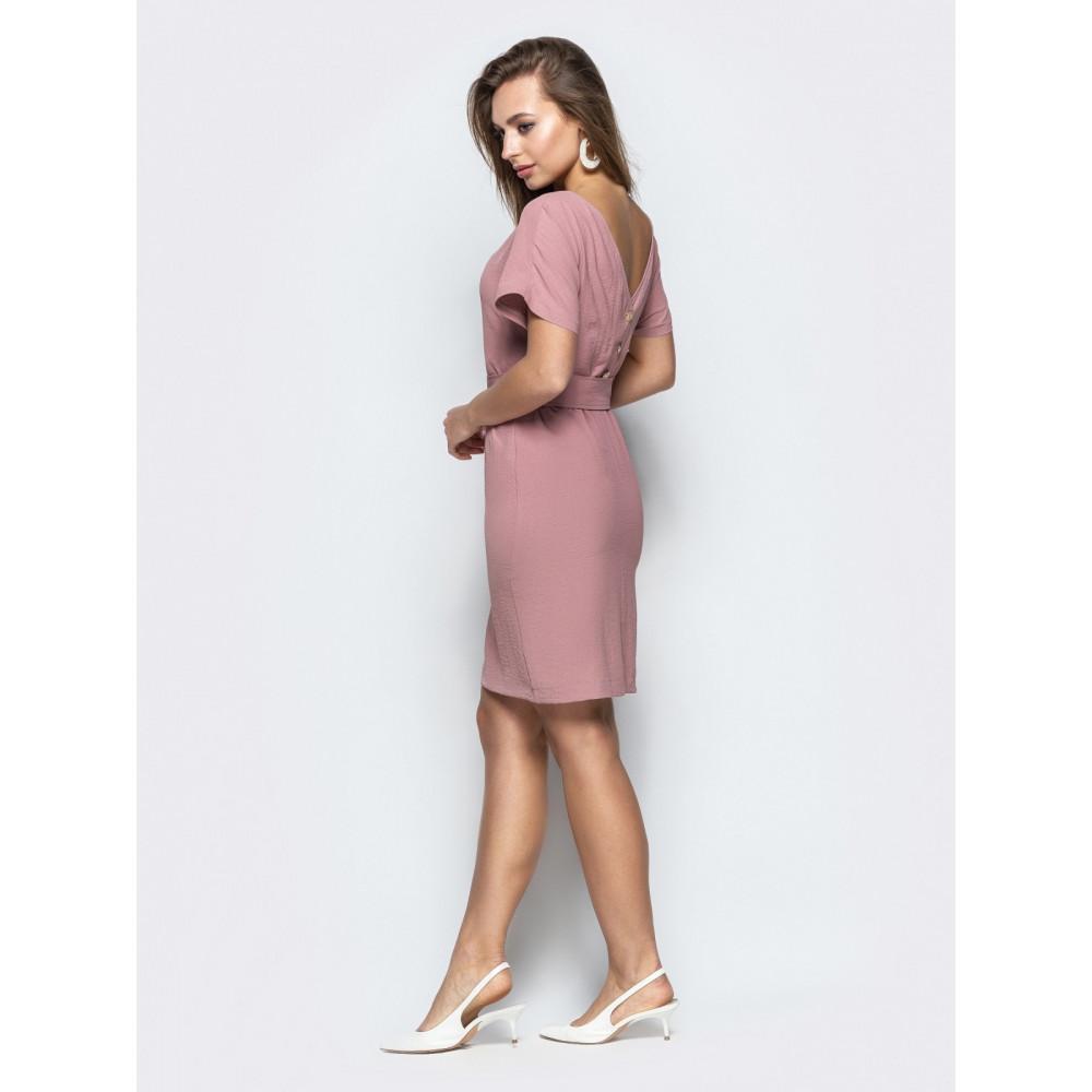 Женственное платье с вырезом по спинке фото 3
