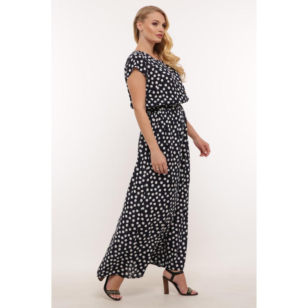 Женственное летнее платье в горошек Влада фото 2