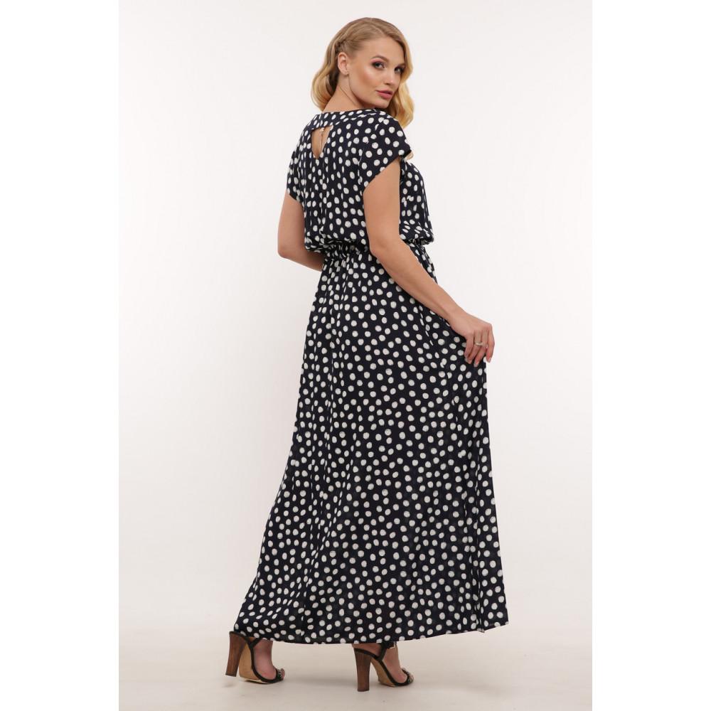 Женственное летнее платье в горошек Влада фото 3