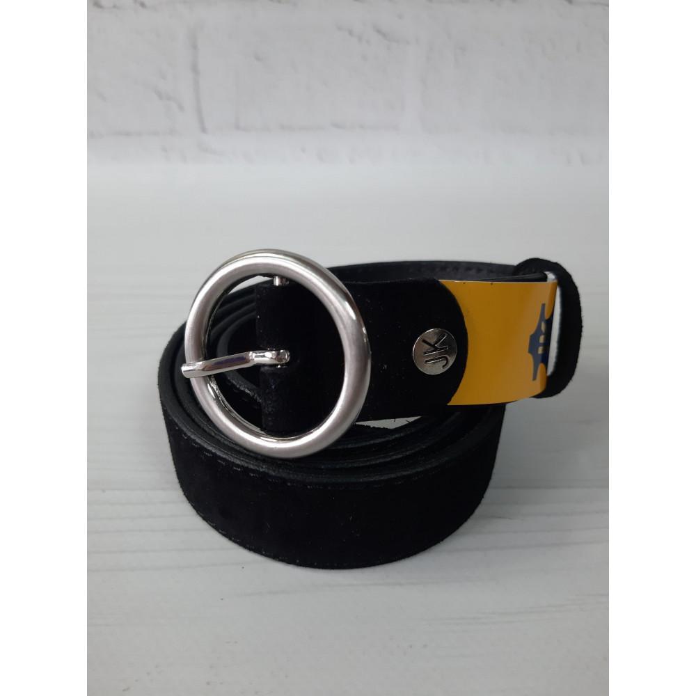 Замшевой аксессуар с серебряной пряжкой фото 1